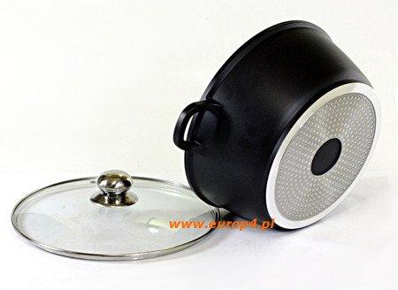 Brytfanna Frico FR 1637 6,7 lit żaroodporna garnek 28 cm pokrywka