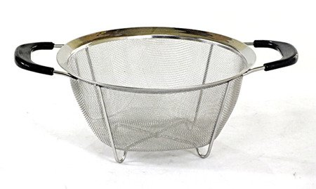 Cedzak Hoffman HF 1148 22,5 cm durszlak sitko metal stalowe na garnek