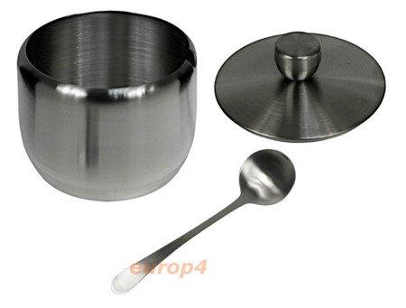Cukiernica BrunHoff BH 4504 pojemnik na cukier+łyżeczka metal