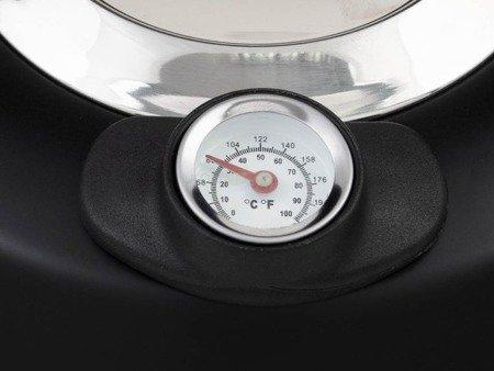 Czajnik Edenberg EB 8815 stalowy 3 L Termometr mat czarny