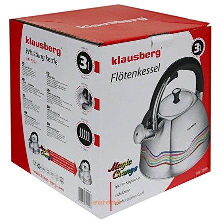 Czajnik Klausberg KB 7099 z gwizdkiem