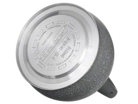 Czajnik Klausberg KB 7267 tradycyjny z gwizdkiem indukcyjny gaz szary