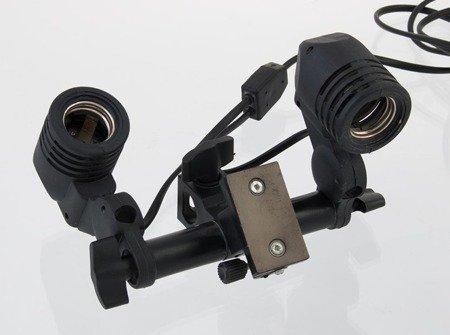 F&V podwójna oprawa E27 do zarówek świetlówek