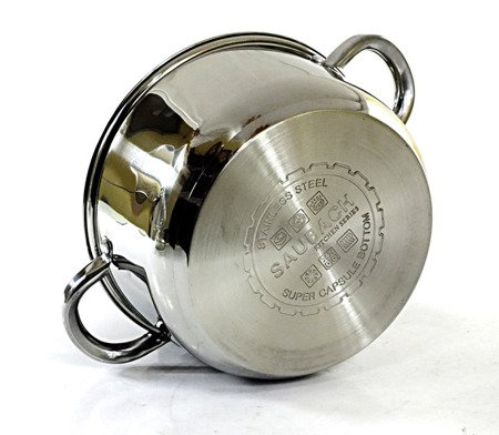 Garnek Saubach SB 2554 22 cm garnki do gotowania na parze