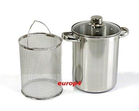 Garnek do gotowania szparagów Edelhoff EH 7209 + Sitko