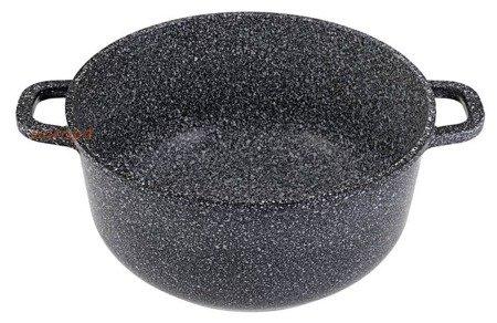 Garnki Hoffman HF 7763 Zestaw garnków marmurowych + rondel