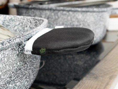 Garnki Klausberg KB 7327 Zestaw garnków granitowych indukcyjnych