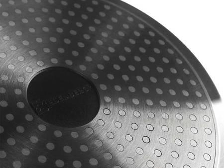 Garnki granitowe z odpinanymi uchwytami Edenberg EB 5632 Zestaw garnków indukcyjnych czarne+noże BH 2111