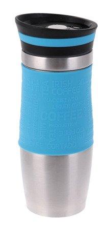 Kubek Hoffner HF 7540 termiczny termos pojemnik bidon 380 ml niebieski