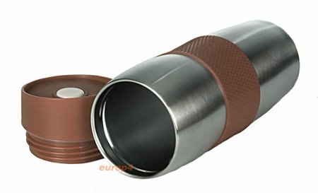 Kubek termiczny Edenberg EB 621 380ml termos pojemnik bidon brązowy