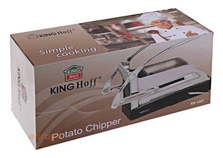 Maszynka KingHoff KH 1207 do frytek ziemniaków krajalnica stalowa