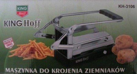 Maszynka do frytek KingHoff KH 3106 ziemniaków krajalnica Stalowa