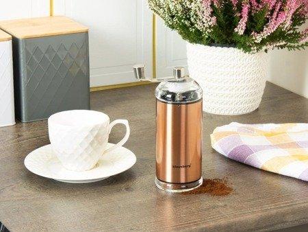 Młynek Klausberg KB 7341 miedziany ręczny do mielenia kawy ceramiczny