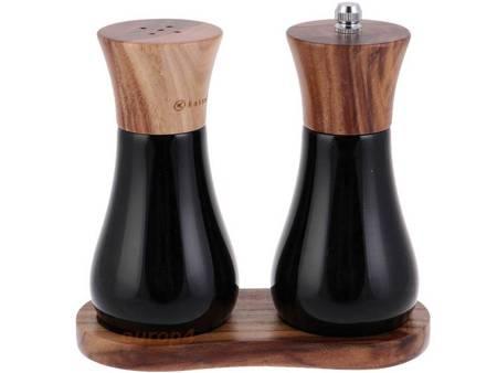 Młynek drewniany Kassel 93574 do soli i pieprzu 2 ZESTAW