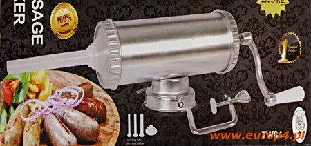 Nadziewarka Edenberg EB 3191 maszynka szpryca x3 kiełbasy 2.5kg tłok
