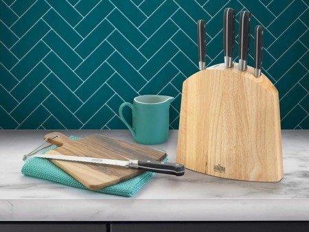 Noże V Sabatier Richardson Sheffield Zestaw noży kuchennych 5 części w bloku
