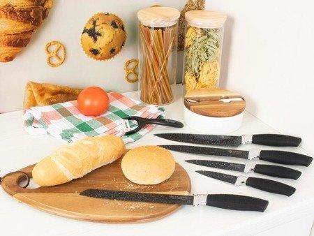 Noże kuchenne Edenberg EB 9810B stalowe 6 szt w zestawie