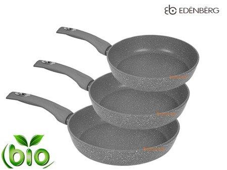 Patelnia Edenberg EB 1733 3 Ceramiczna Granitowa powłoka