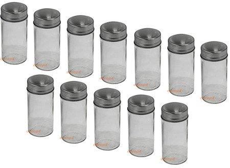 Pojemniki Edenberg EB 4023 stojak na przyprawy pieprz sól SOLNICZKA
