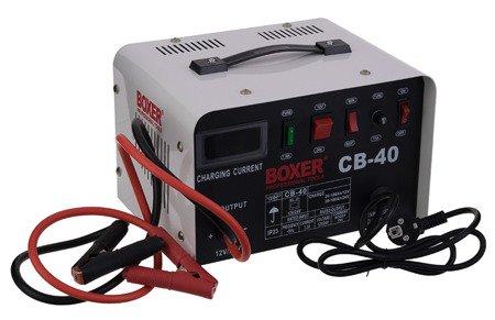 Prostownik do ładowania akumulatorów Boxer BX 8007 18A