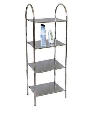 Regał łazienkowy/kuchenny Metlex MX 3038 szafka półka stojak wózek łazienkowy WC