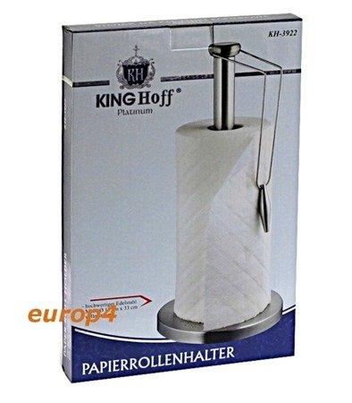 Stojak Kinghoff KH 3922 wieszak uchwyt stalowy na ręcznik INOX