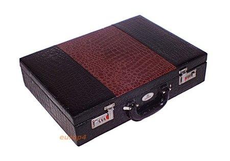 Sztućce Edenberg EB 5911 Połysk walizka zestaw łyżki komplet Wzór D lub E do Wyboru