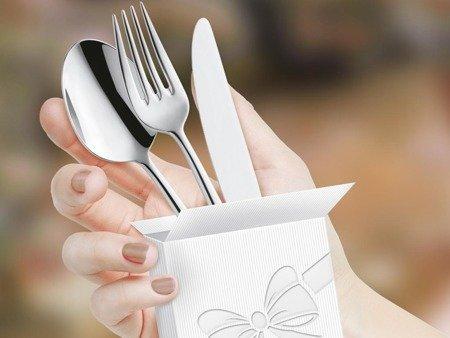 Sztućce do restauracji Amefa Livia Ronda 8036 4 szt dla 1 osoby na wesela do domu