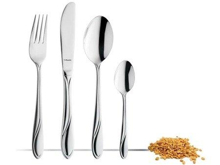 Sztućce obiadowe Amefa Whisper 1405 24 elementy dla 6 osób 18/0