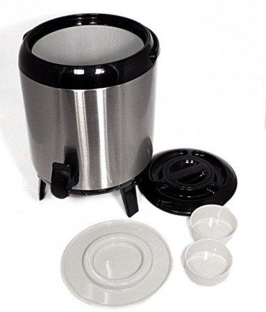 Termos gastronomiczny 7,5 L Metlex MX 7405 cateringowy +kran na kawę, herbatę, gorącą wodę