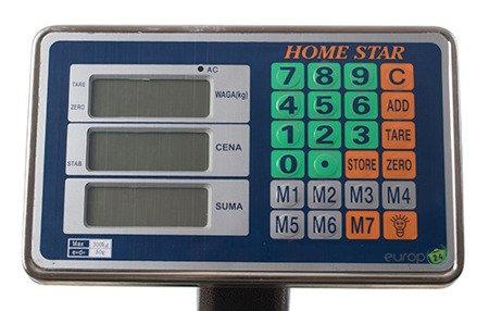 Waga Home Star HS 2007 SKLEPOWA MAGAZYNOWA elektroniczna 200 kg