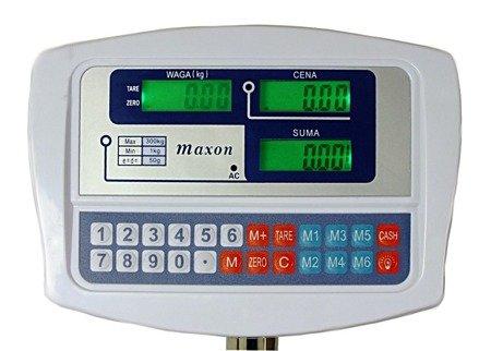 Waga Maxon SKLEPOWA MAGAZYNOWA elektroniczna 150 kg MX 1023